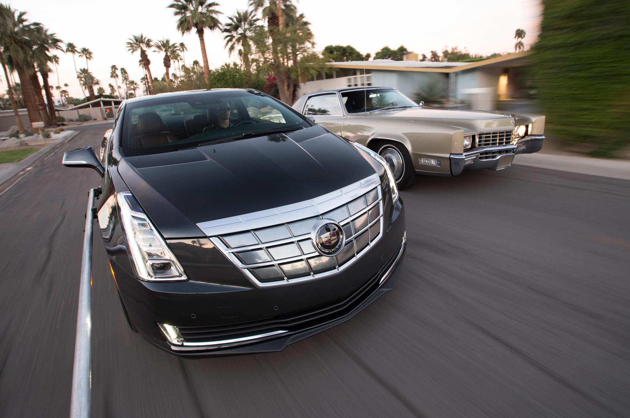 Then vs. Now: 1967 Cadillac Eldorado Vs. 2014 Cadillac ELR