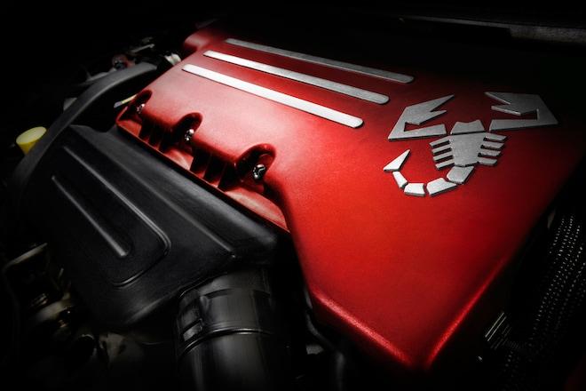 2014 Fiat 500C Abarth Engine
