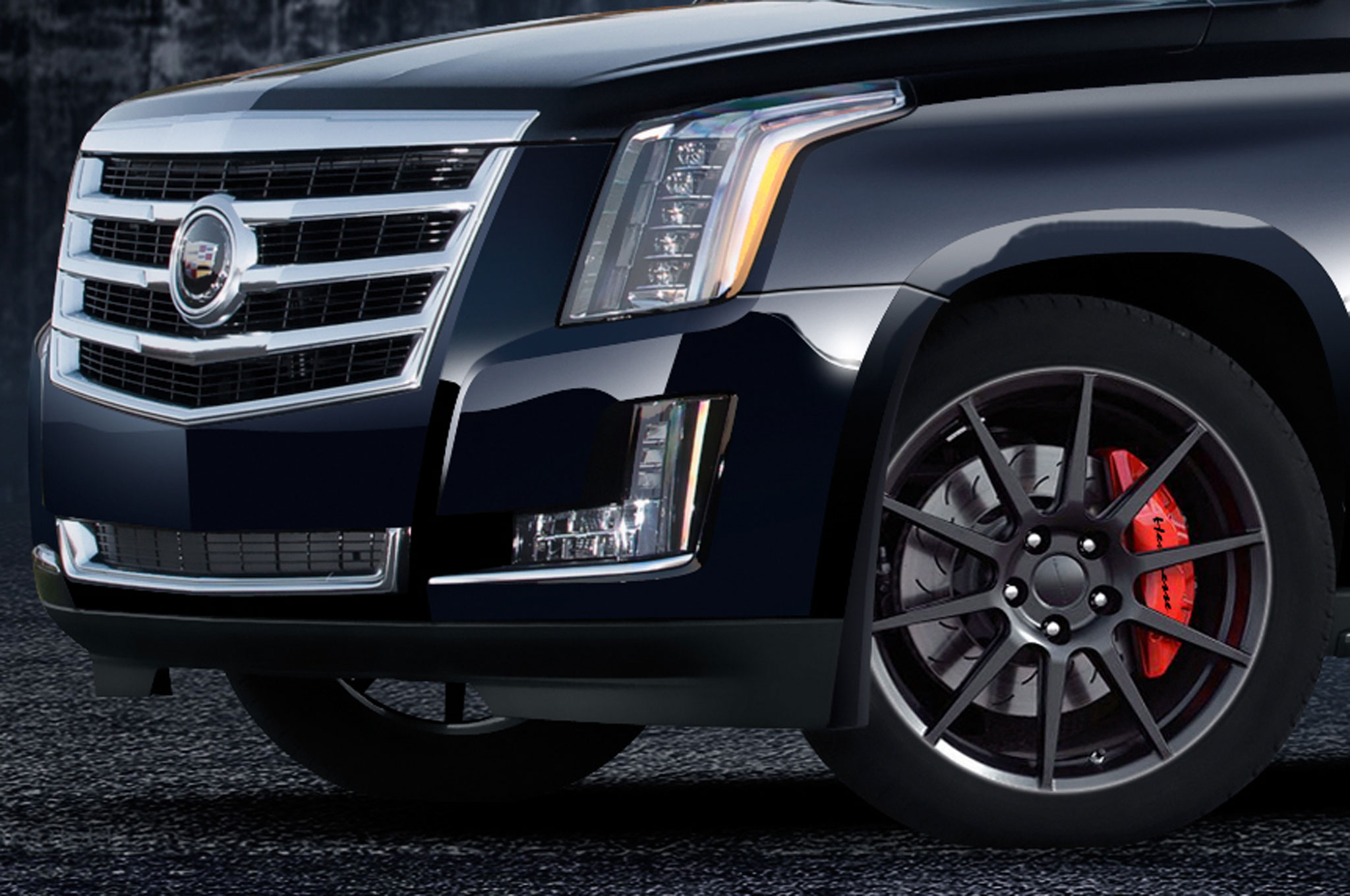 Hennessey Supercharges 2015 Cadillac Escalade to Create HPE550