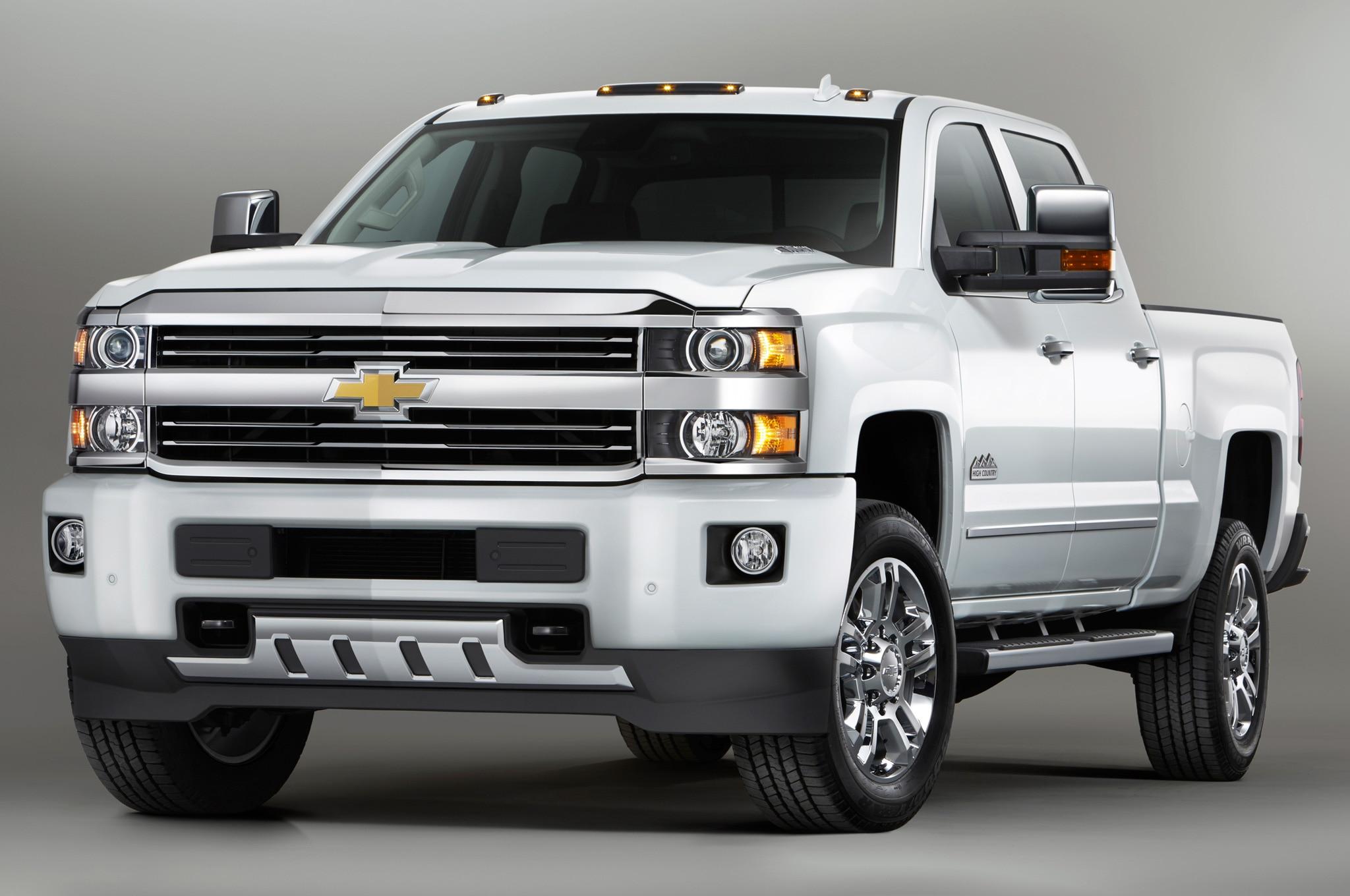 2015 Chevrolet Silverado High Country HD Announced Automobile