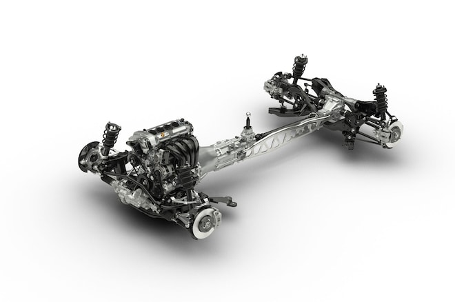 2016 Mazda Miata Chassis