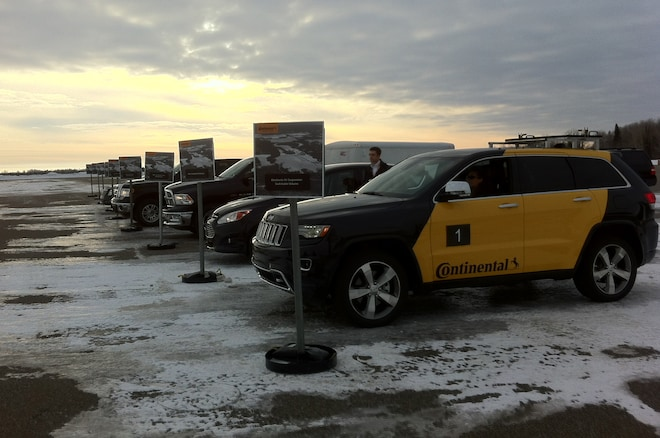 Continental 2014 Jeep Grand Cherokee And Other Test Vehicles1