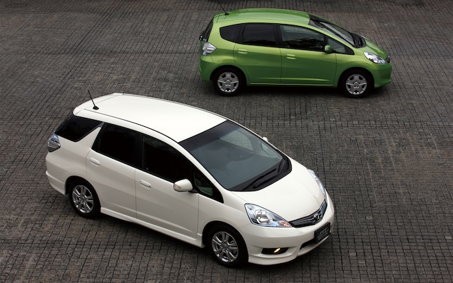 Honda Fit Shuttle With Fit1
