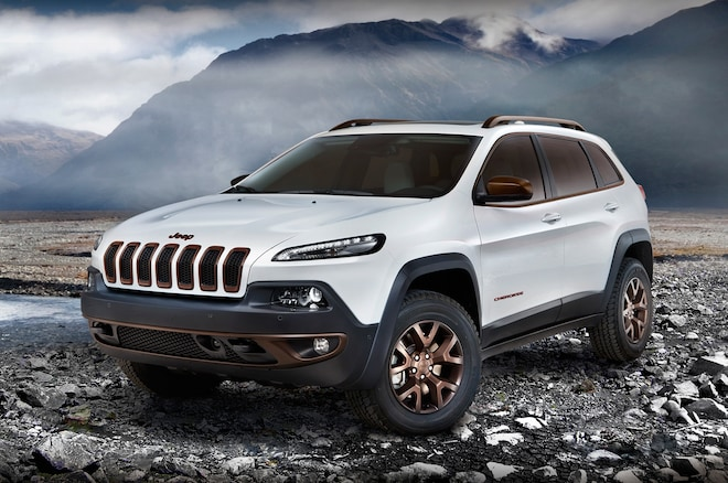 Jeep Cherokee Sageland Design Concept Front Three Quarters1