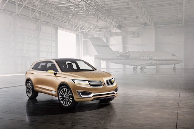 Lincoln MKX Concept Front Three Quarters