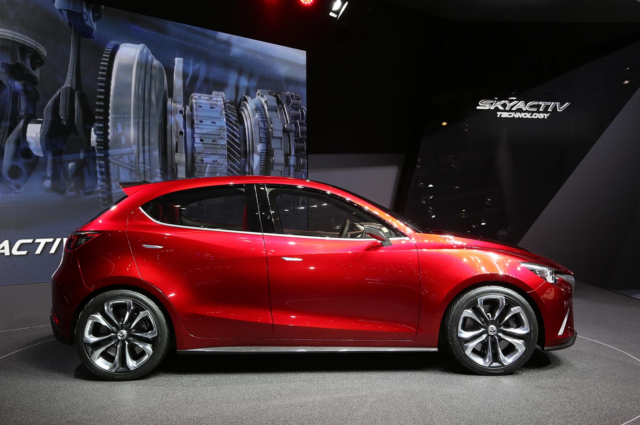 2015 Mazda 2 Subcompact Spied - Automobile Magazine