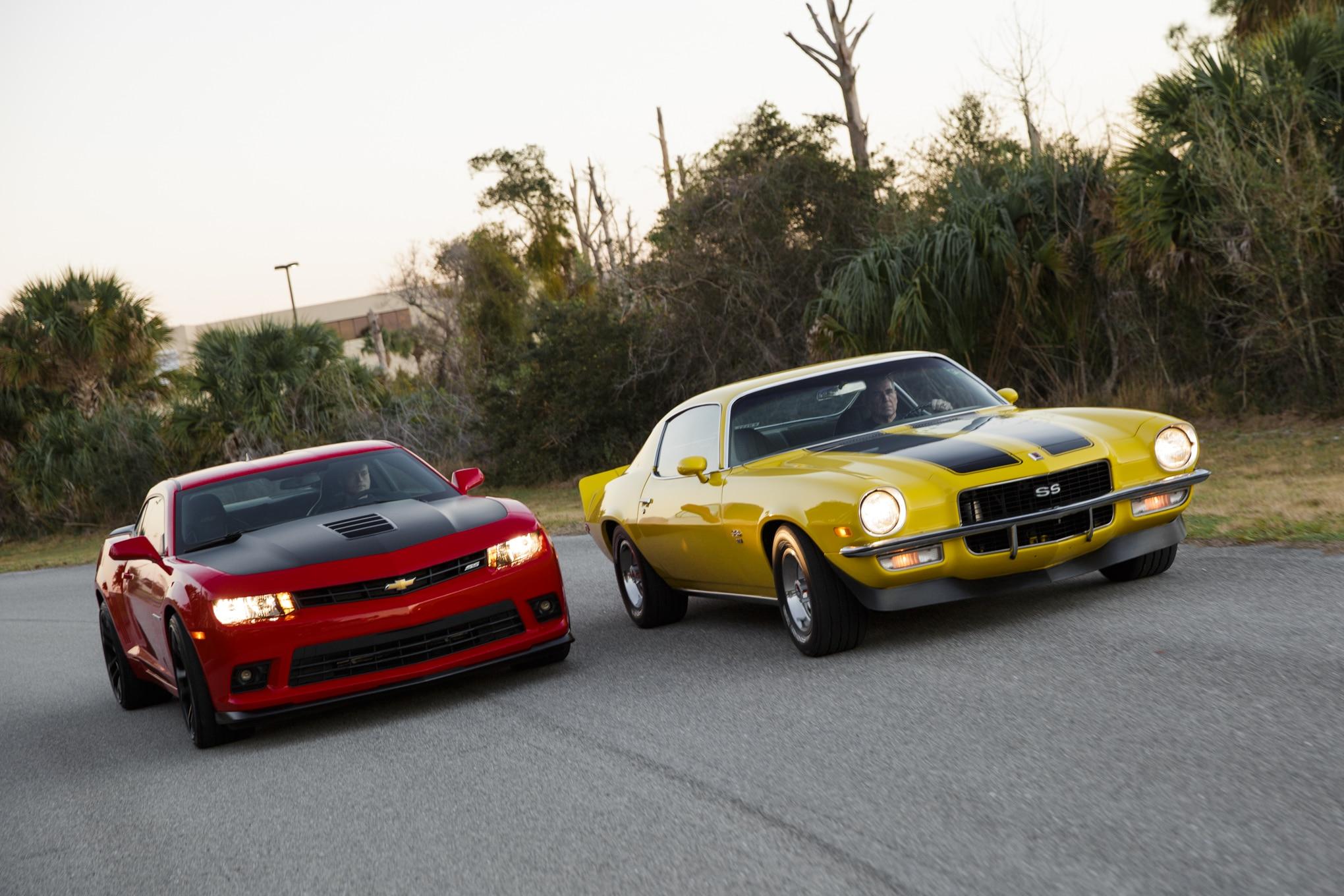 Then vs  Now: 1971 Chevrolet Camaro SS vs  2014 Chevrolet