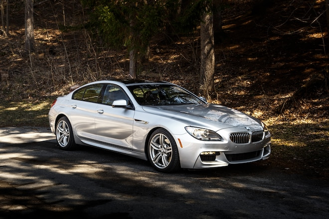 2014 BMW 640i Gran Coupe 19 Front Three Quarter1
