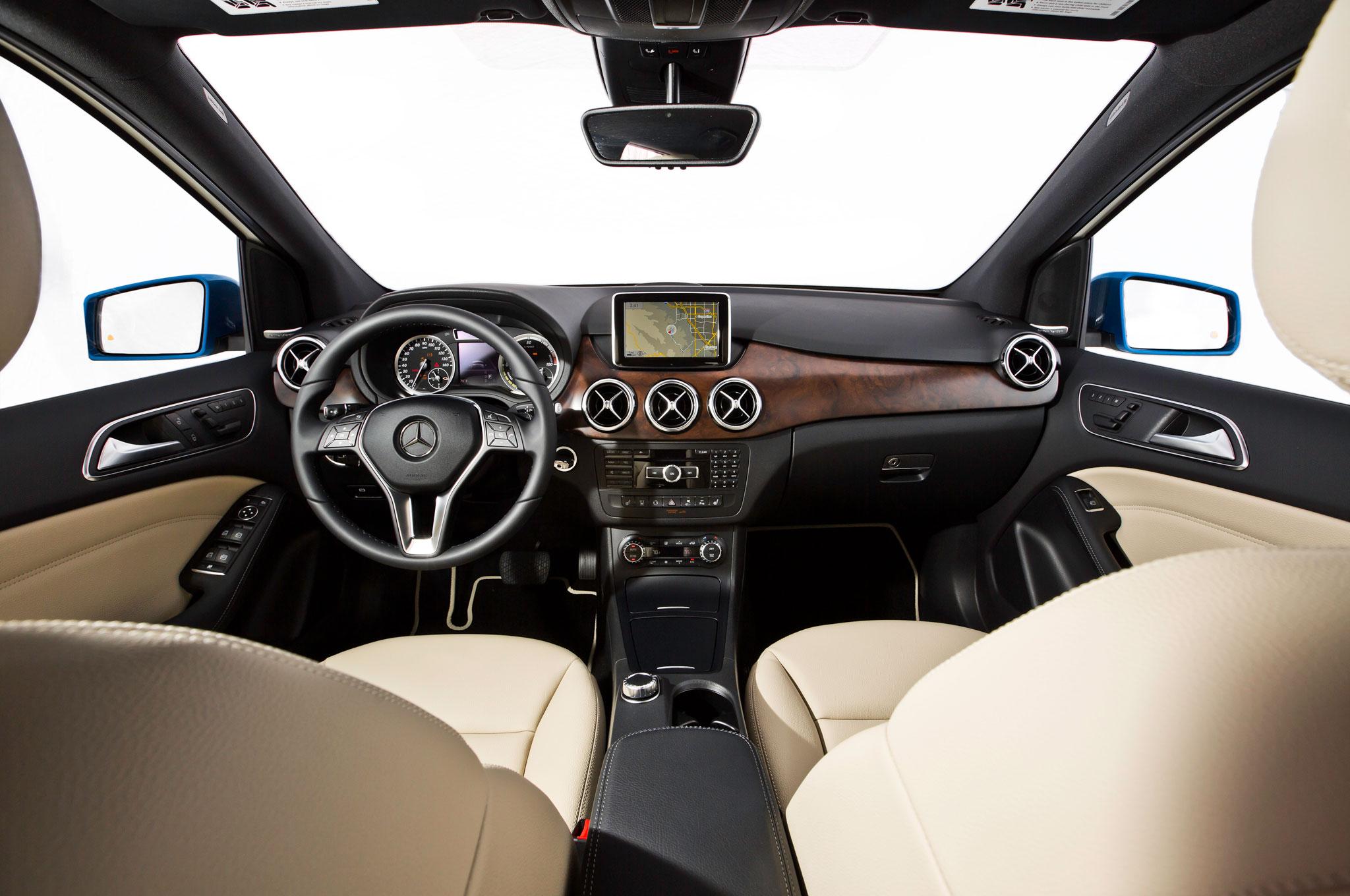 2014 mercedes benz b class electric drive review automobile magazine