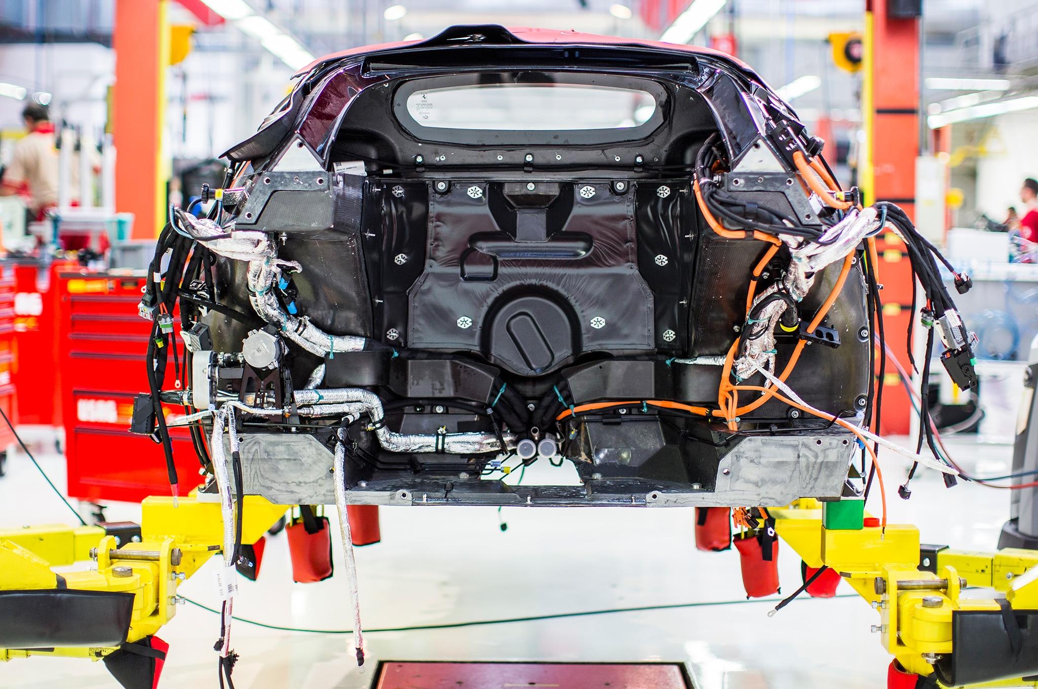 Building The Ferrari Laferrari Automobile Magazine
