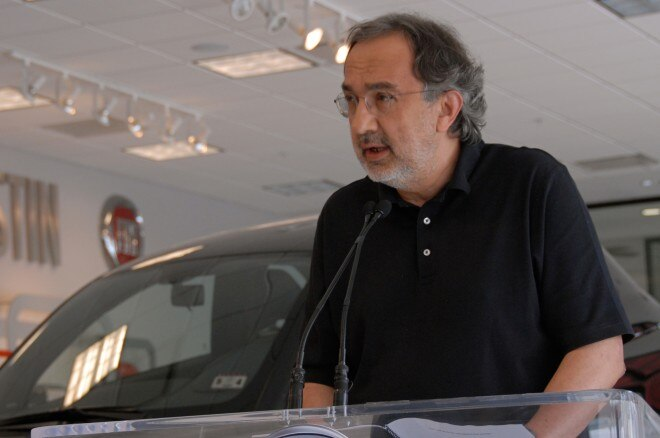 Chrysler CEO Sergio Marchionne 2