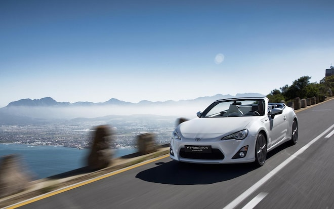 Toyota Ft86 Open Concept Front Driving1