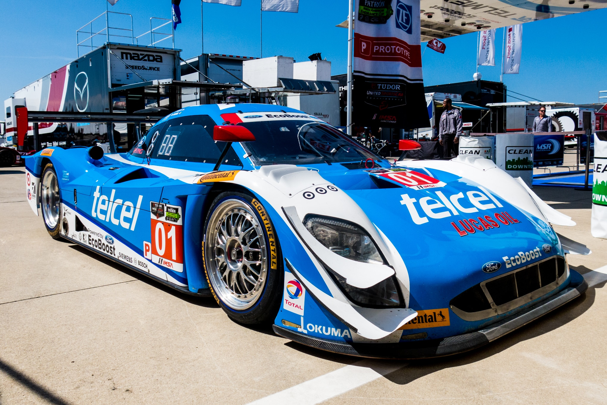 Mazda Ford Racing Take Production Engines To The Track