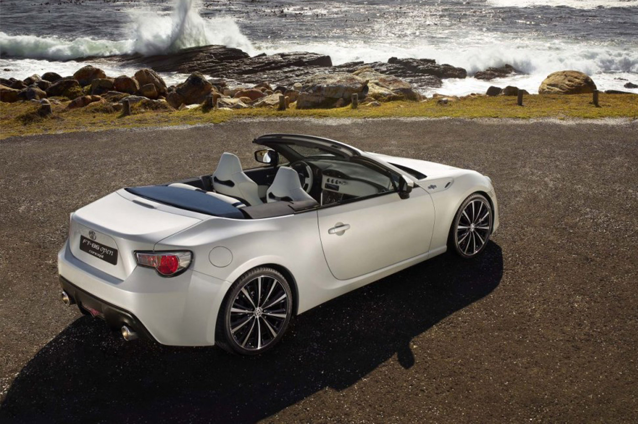 Toyota Ft86 Open Concept Rear Three Quarters