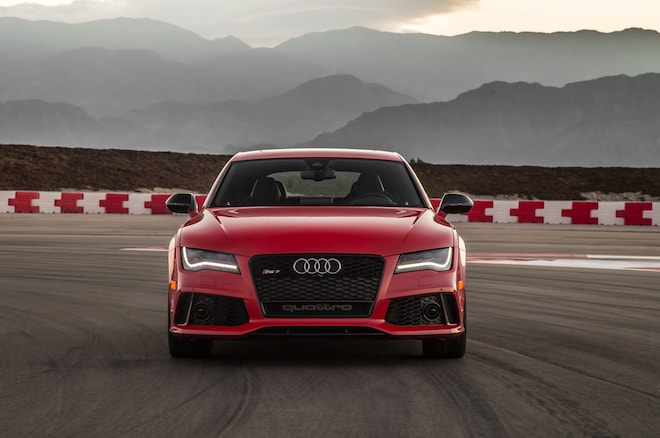 2014 Audi RS7 Front End