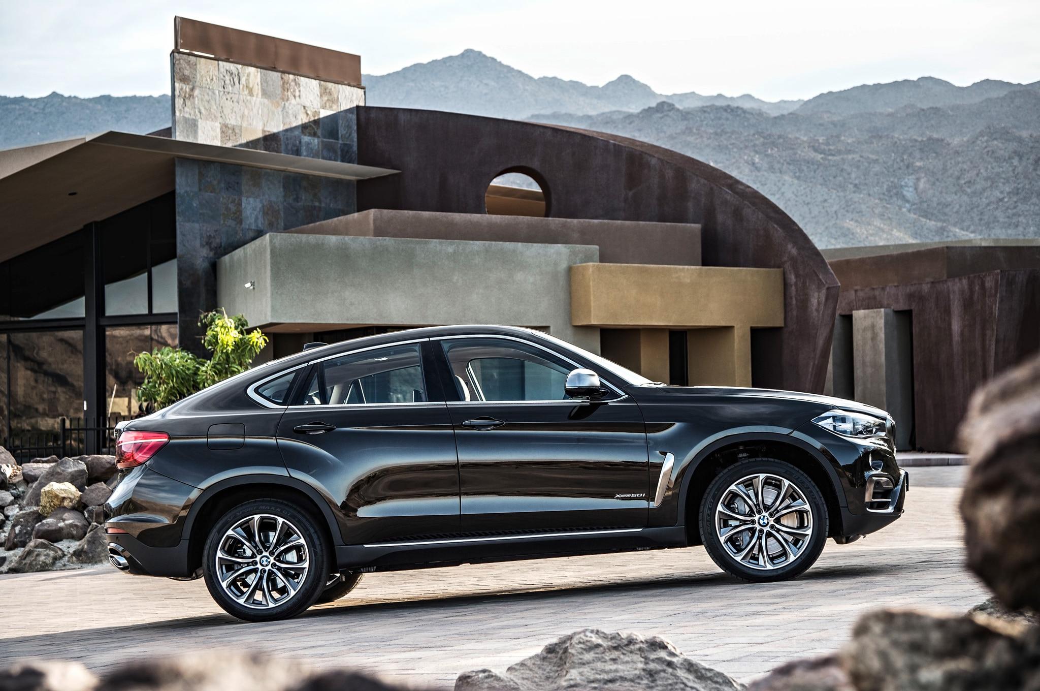 2015 Bmw X6 Updated Adds Rear Wheel Drive Model Automobile Magazine