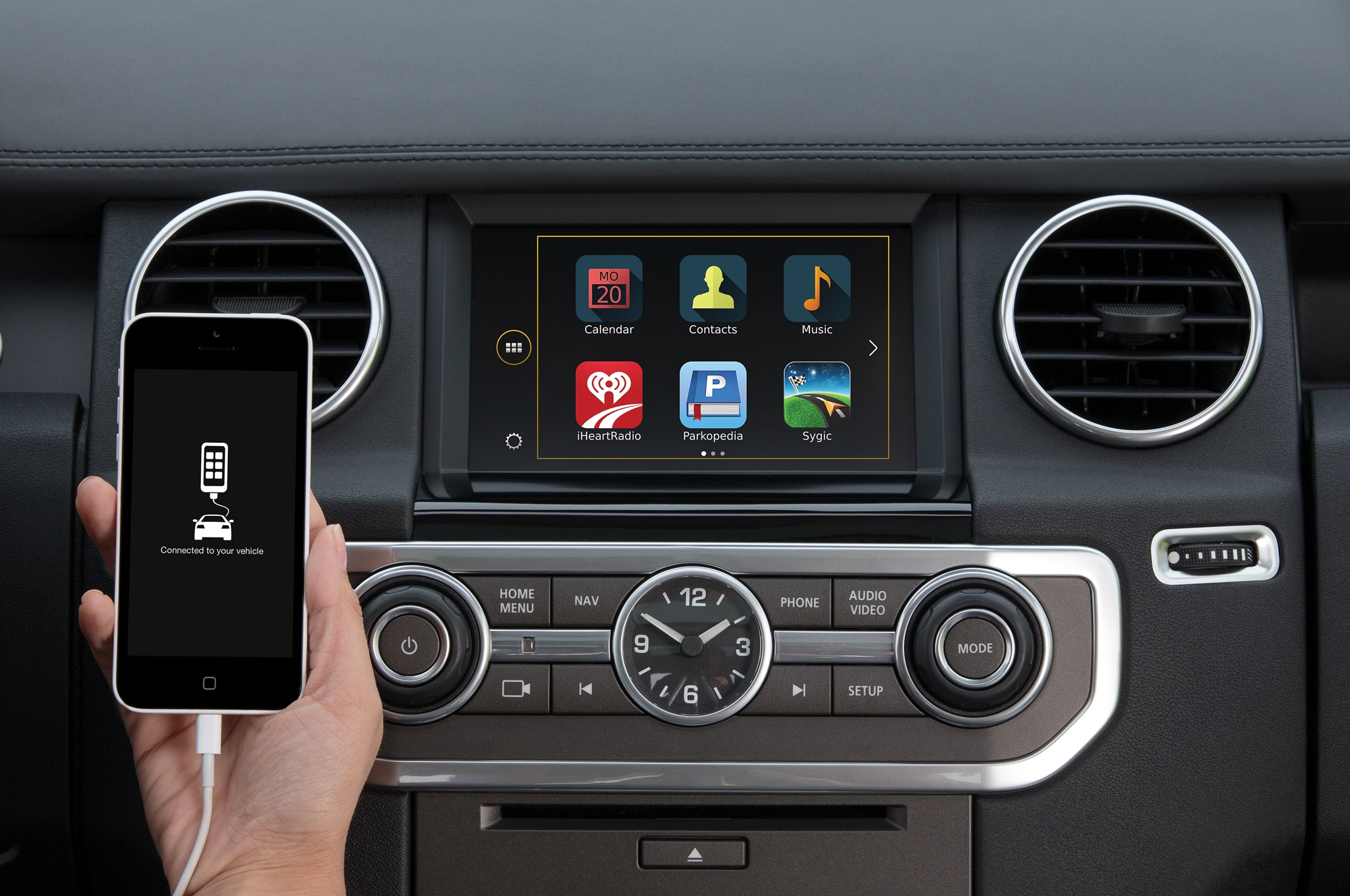 2015 Land Rover LR4 Adds New Colors Smartphone Link Automobile
