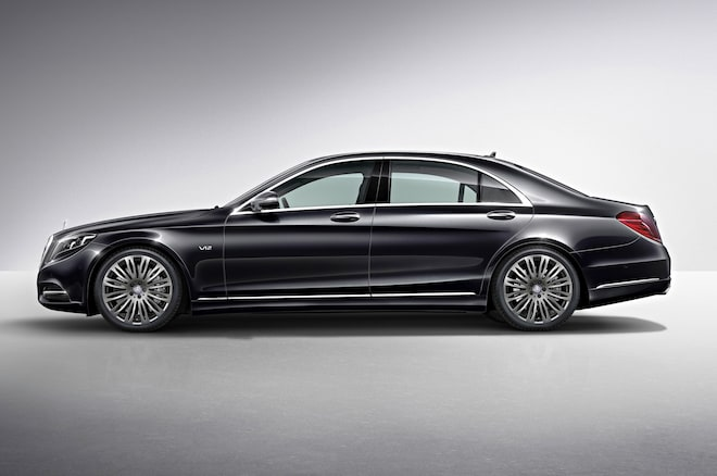 2015 Mercedes Benz S600 Side View1