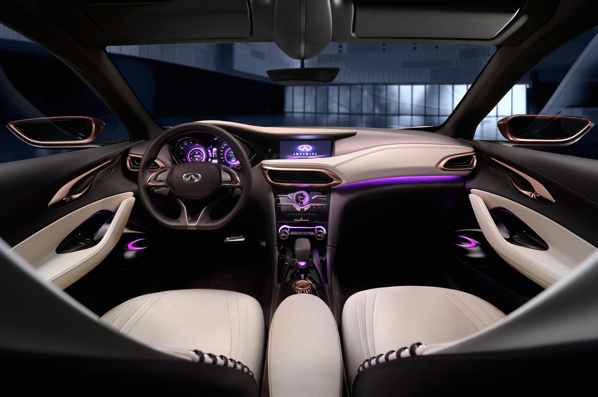 Infiniti Q30 Concept Dash