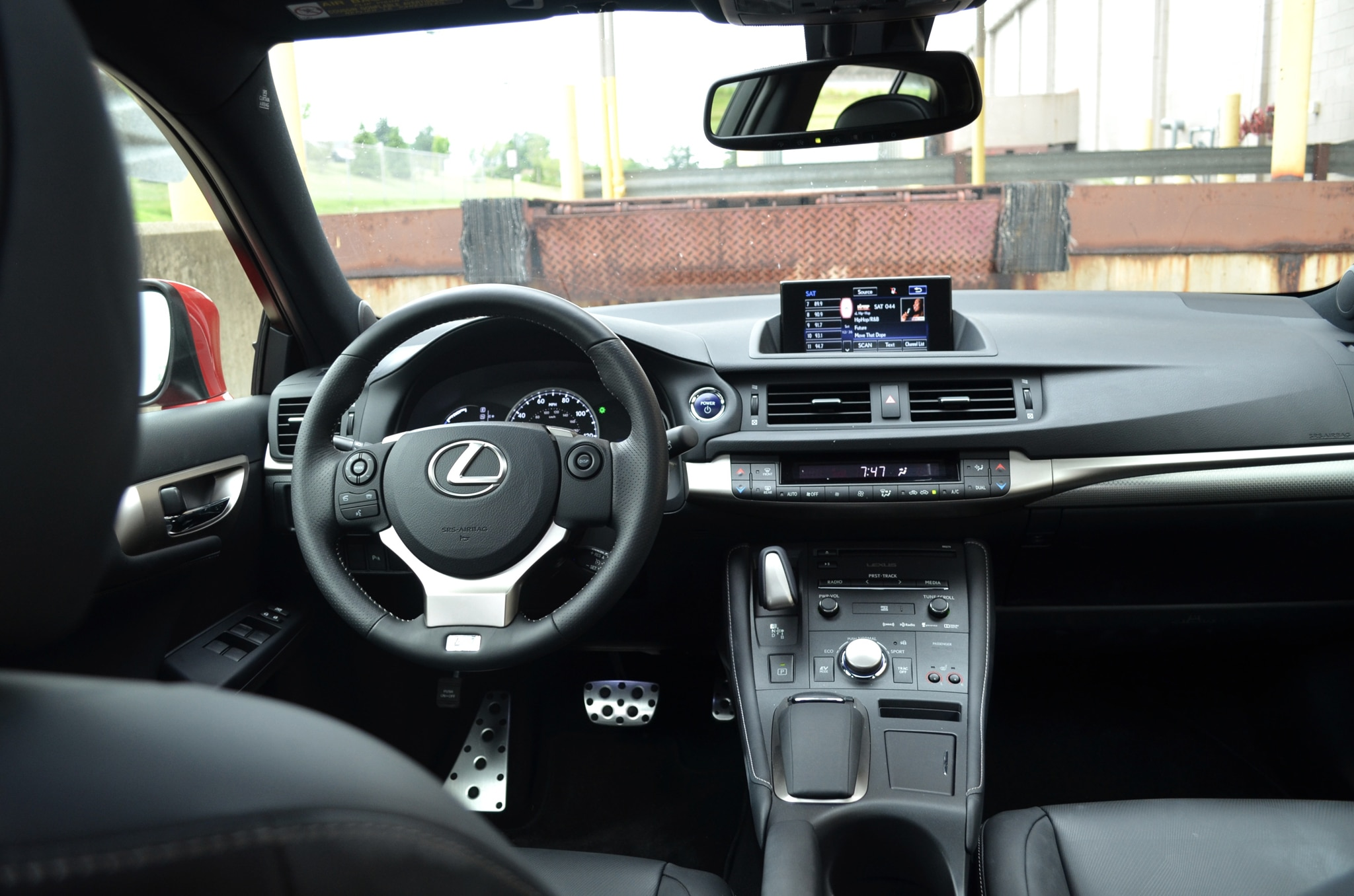 2014 lexus ct200h f sport around the block. Black Bedroom Furniture Sets. Home Design Ideas