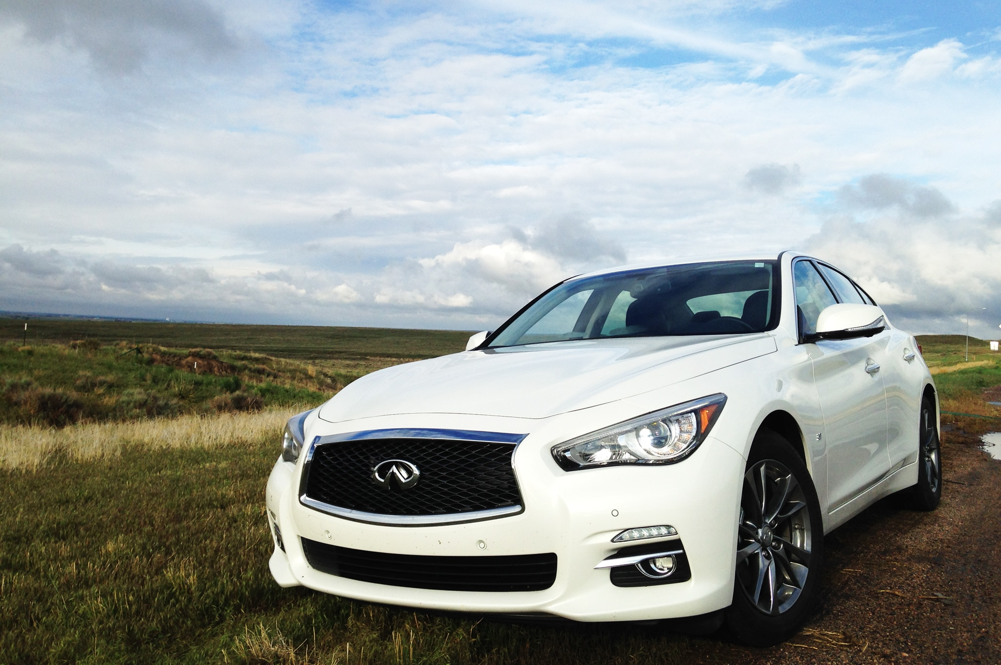 2014 Infiniti Q50 Four Seasons Vegas Trip 12 Front Three Quarter