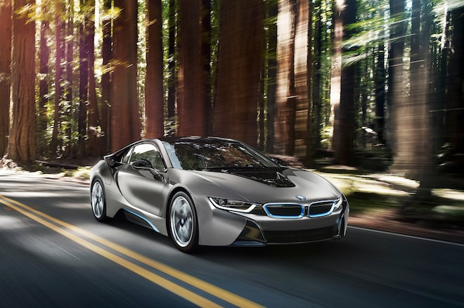 BMW I8 Concours D Elegance Edition Front Three Quarter In Motion1