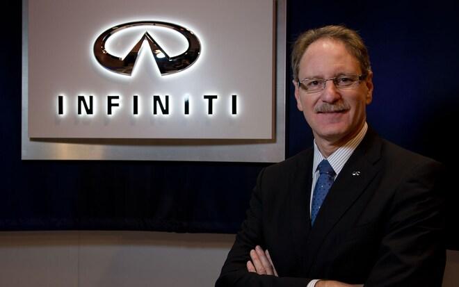 Infiniti President Johan De Nysschen