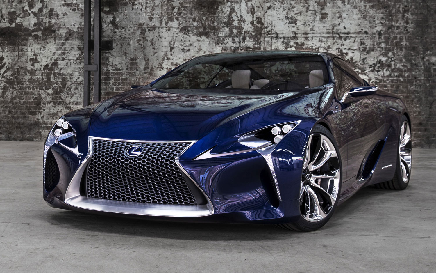 Lexus LF LC Front Left Side1
