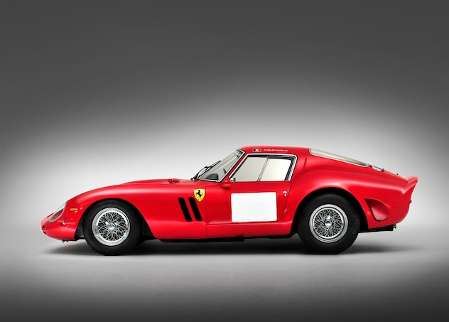 1962 Ferrari 250 GTO Berlinetta Side Profile 021