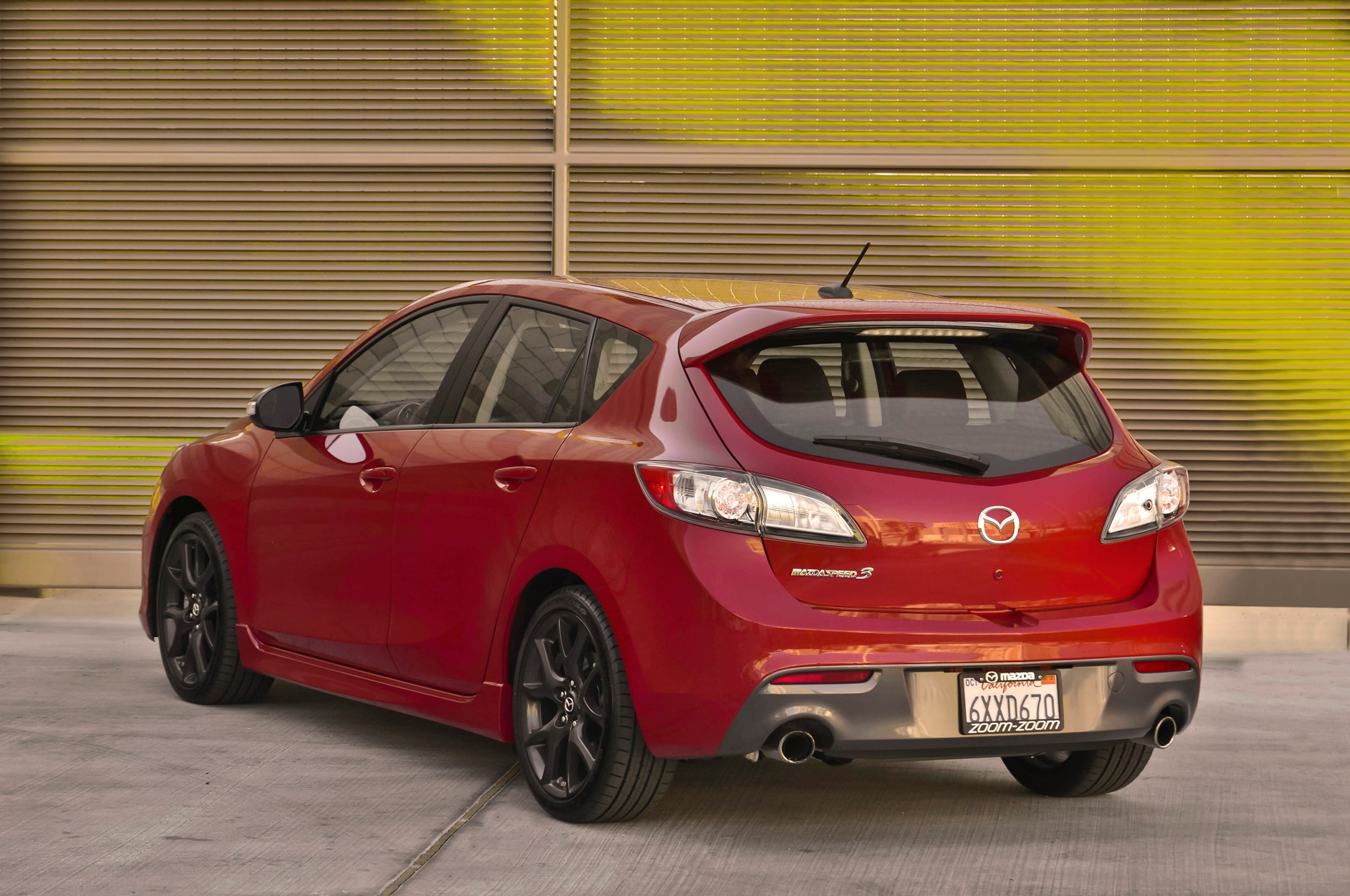 To Cope With All This Power, This Report Says That The Mazdaspeed 3 ...
