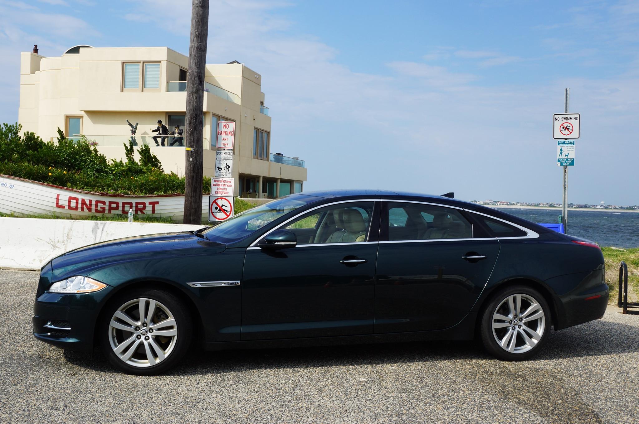 2013 Jaguar Xjl Awd Profile Beach1