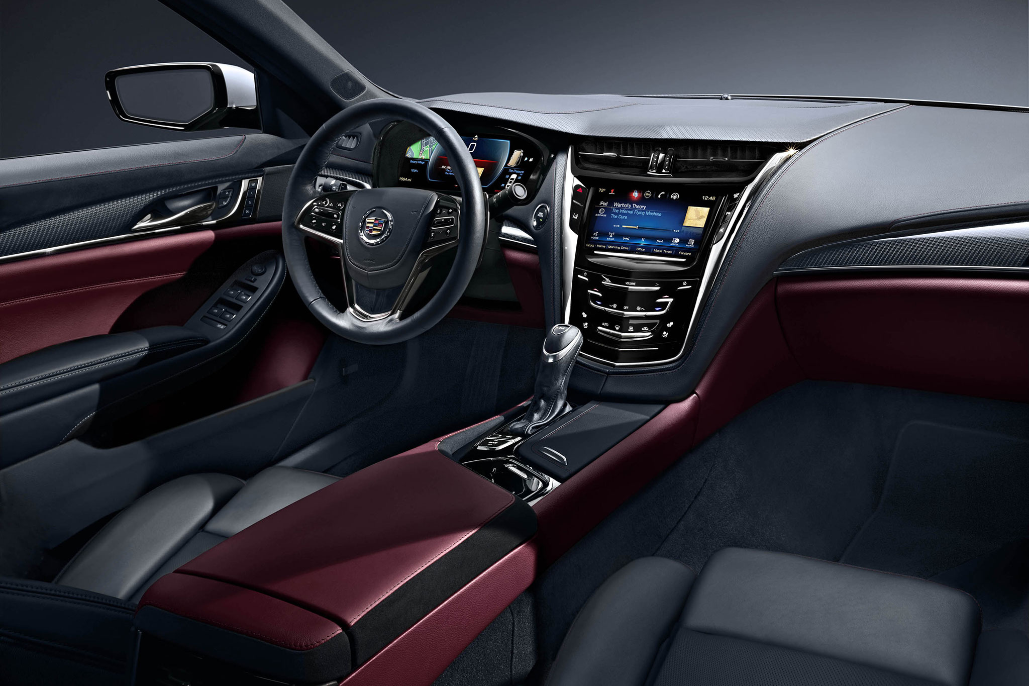 2015 Cadillac Cts Goes Wreathless Adds Tech Features