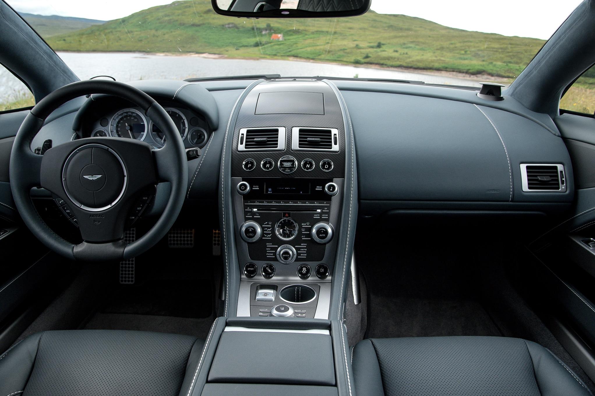 Aston Martin Rapide S Interior View
