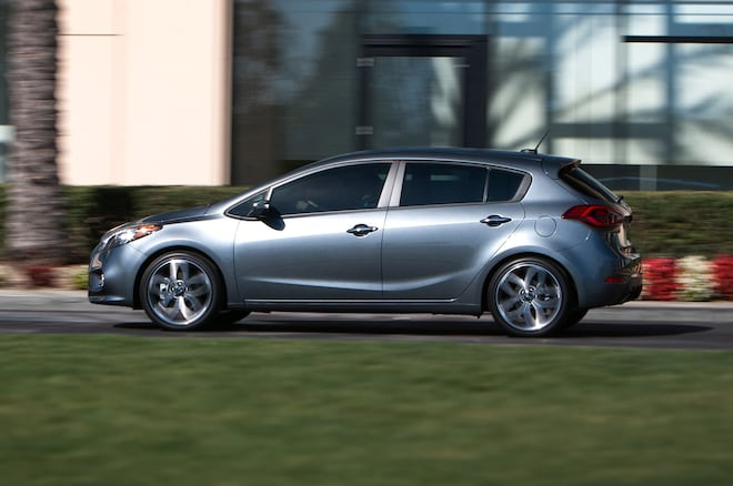 2015 Kia Forte5 Side View In Motion1