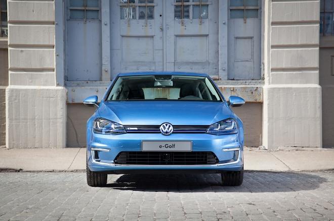 2015 Volkswagen E Golf Front End1