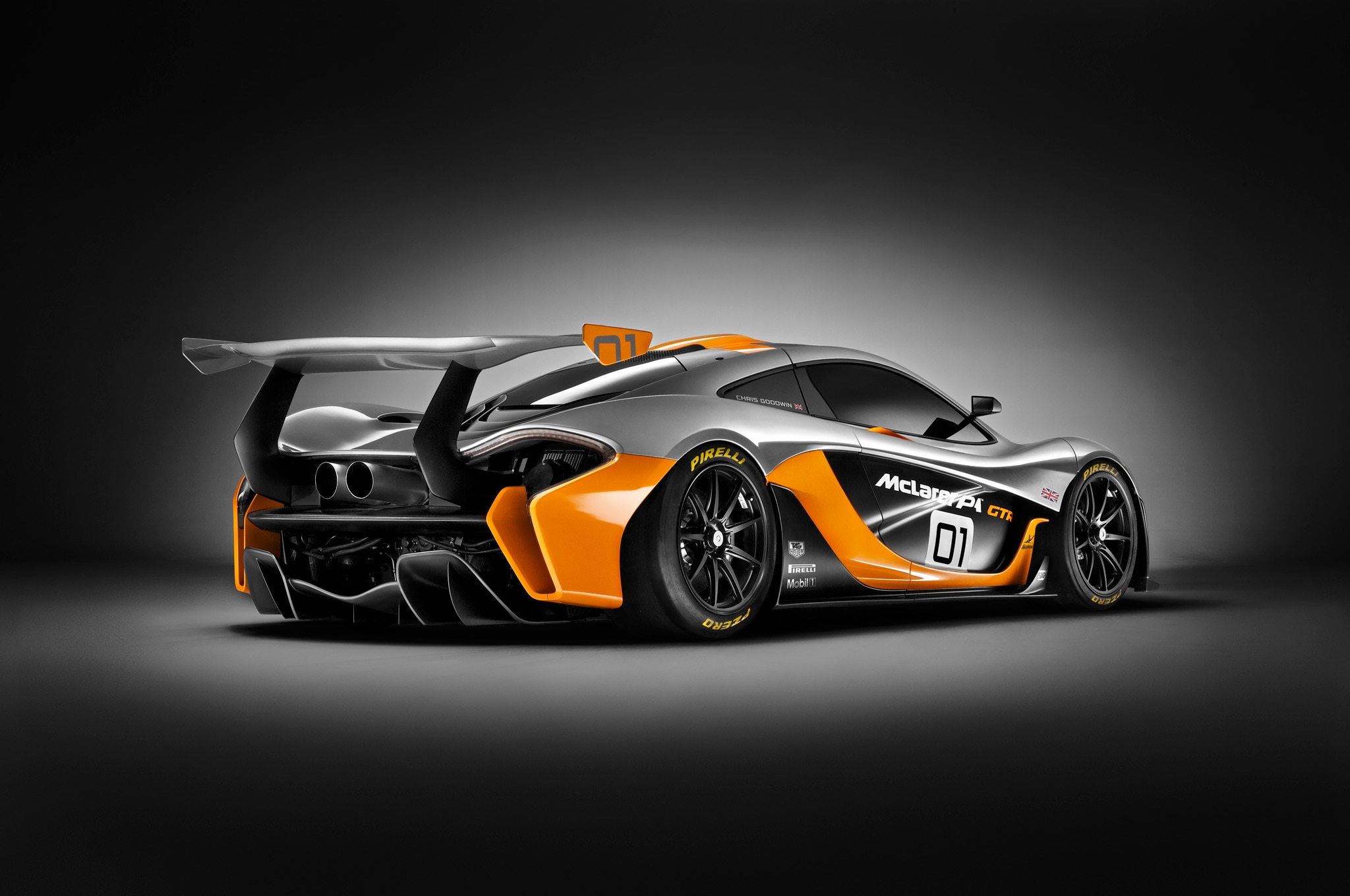 Track Only Mclaren P1 Gtr Debuts At Pebble Beach