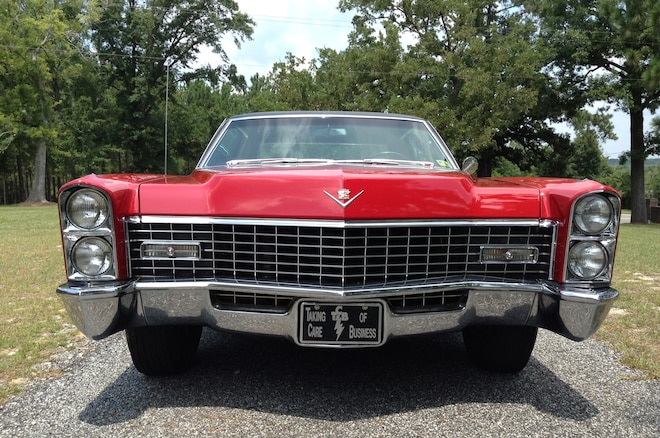 1967 Cadillac Coupe DeVille Owned By Elvis 3