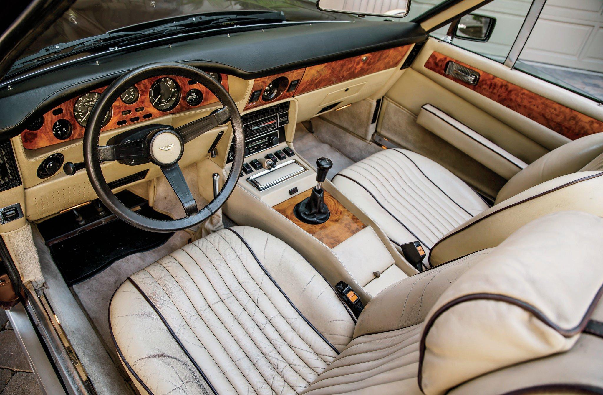 Aston Martin V Seats