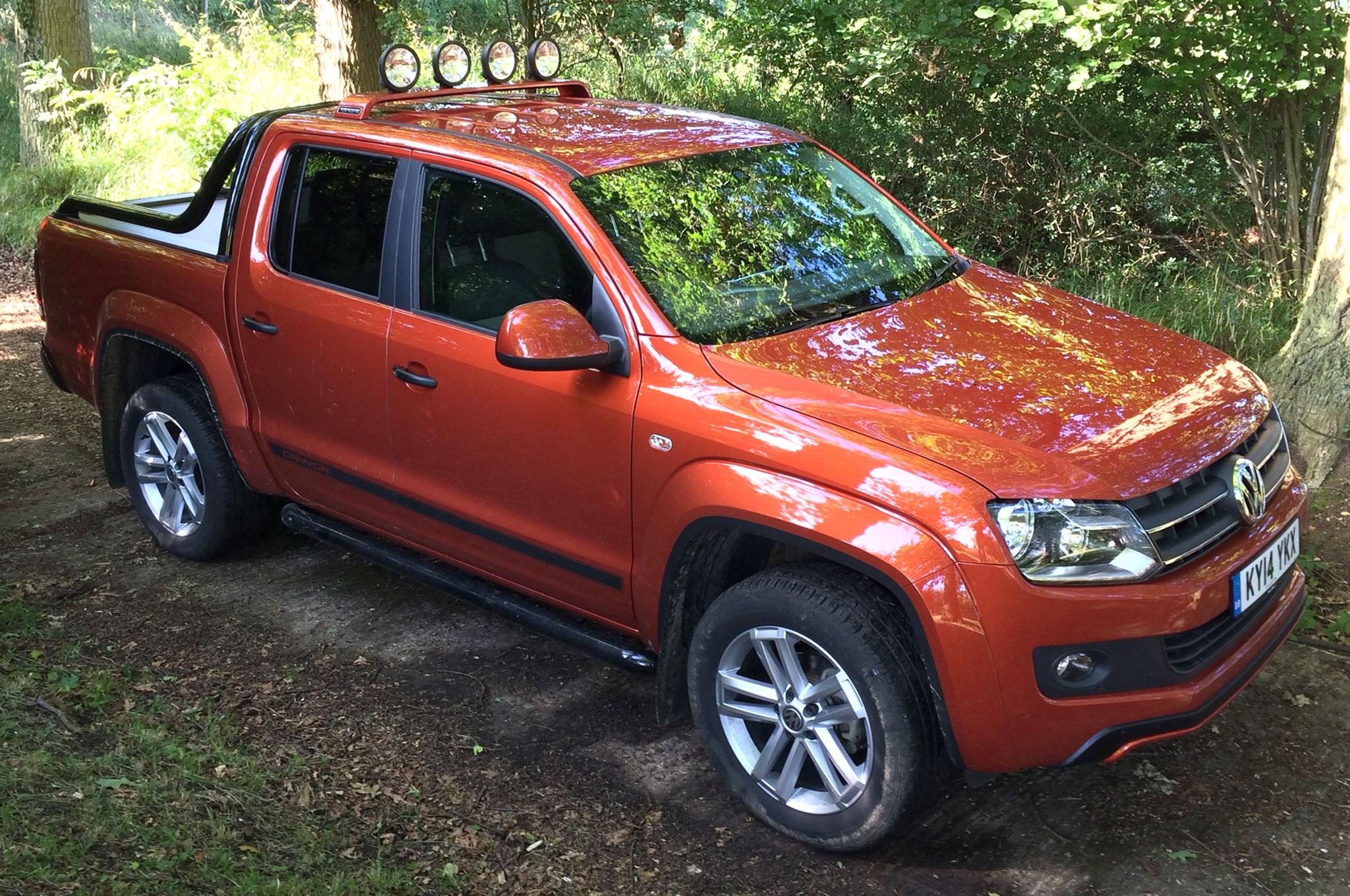 2014 Volkswagen Amarok Canyon Review