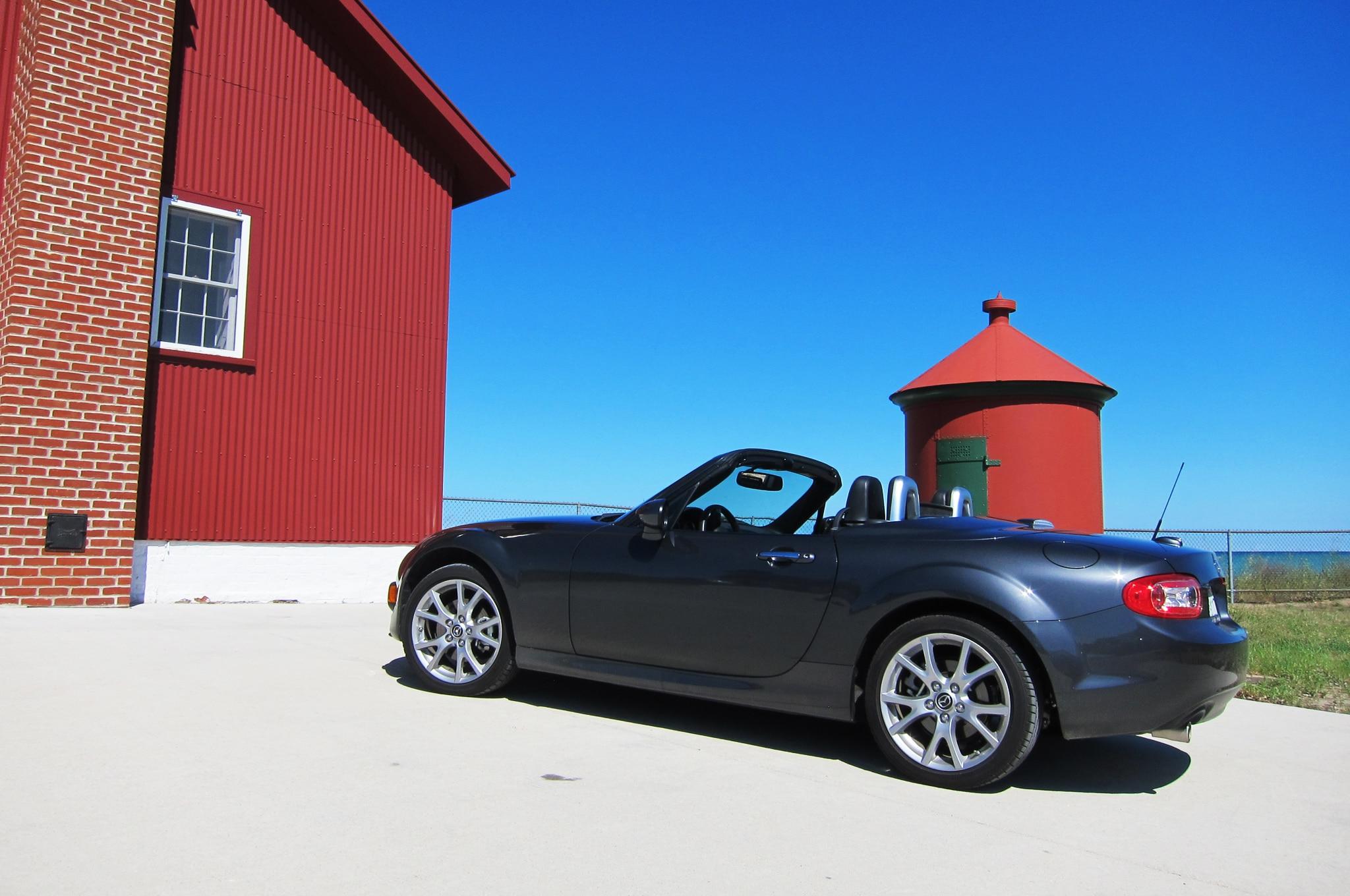 2014 Mazda Mx 5 Miata 05 Lighthouse Profile