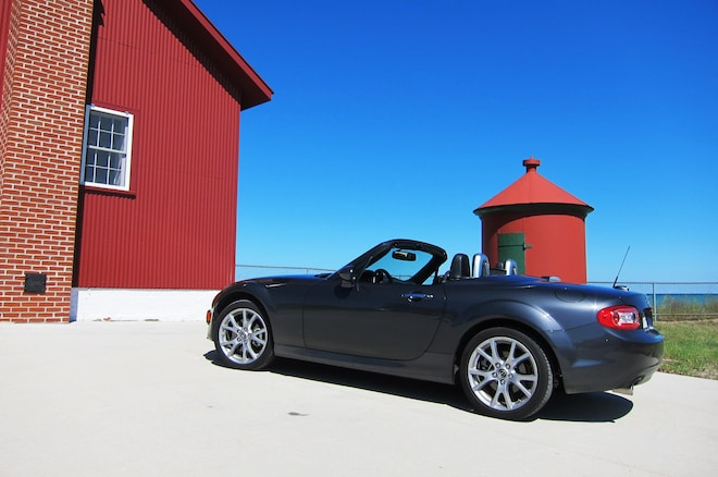 2014 Mazda Mx 5 Miata 05 Lighthouse Profile
