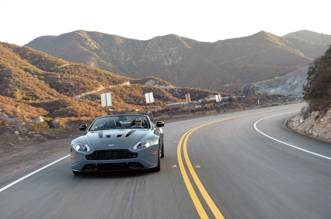 2015 Aston Martin V12 Vantage S Roadster Front View 3