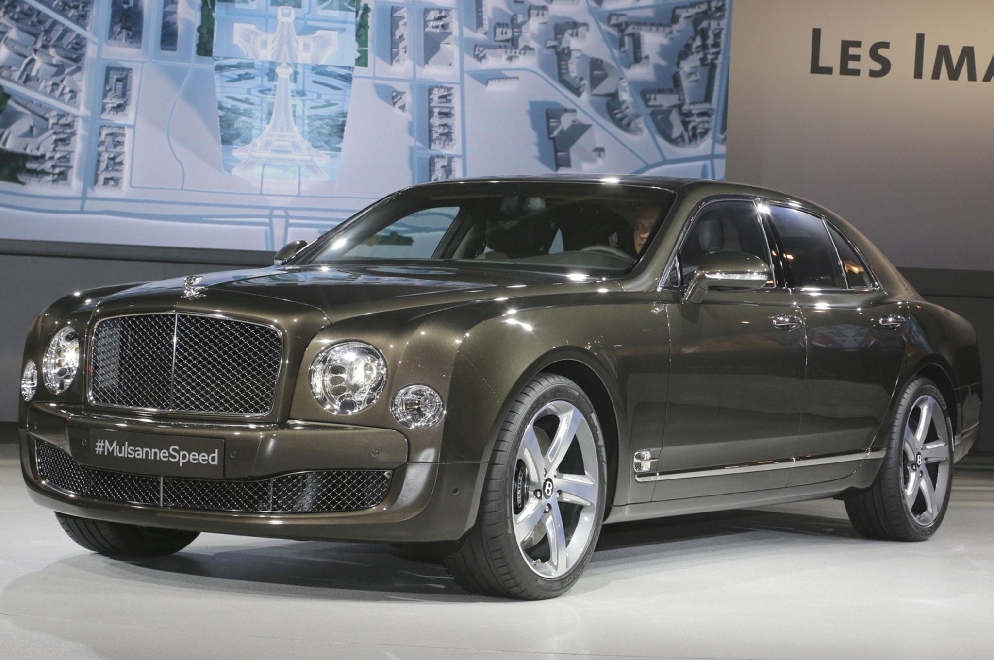 2015 Bentley Mulsanne Debuts at 2014 Paris Motor Show