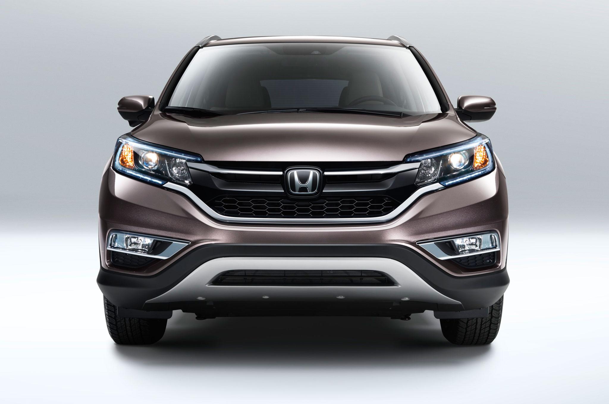 2015 Honda CR-V Refreshed with New Engine, Improved MPG
