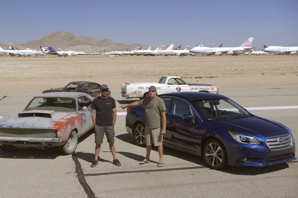 2015 Subaru Legacy Vs Roadkill Project Cars
