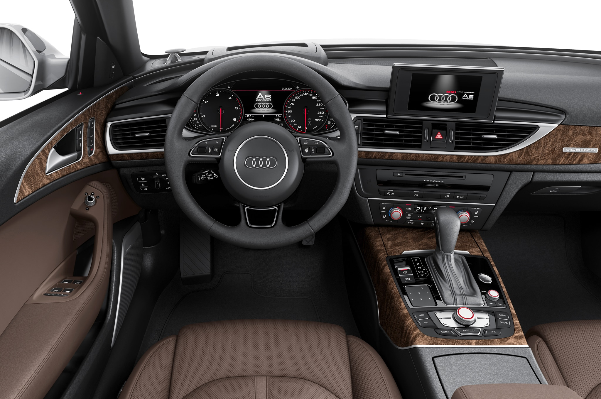 Train Options Will Carry Over From The Existing Car To 2016 Audi A6