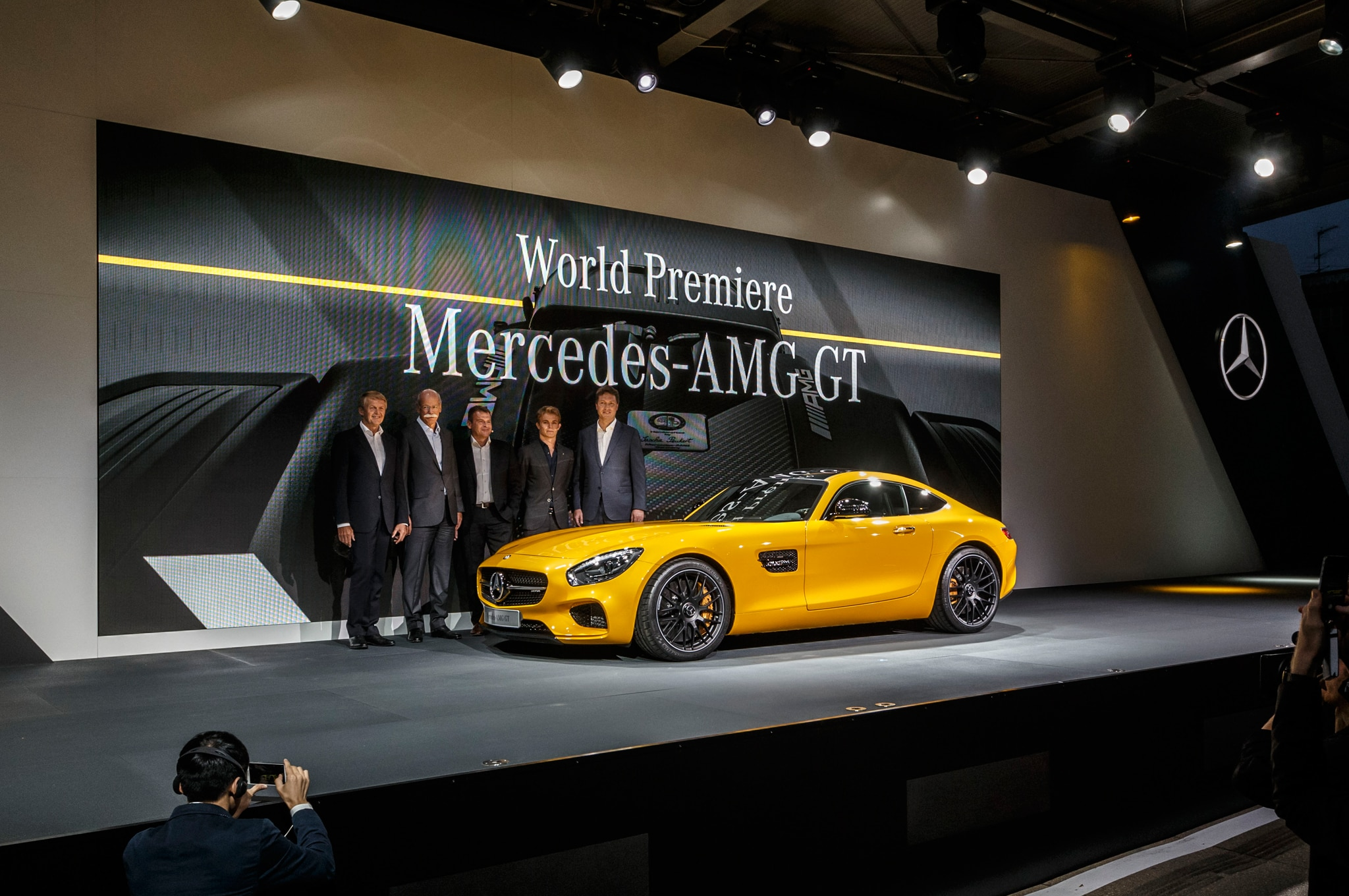 2016 Mercedes AMG GT Team1