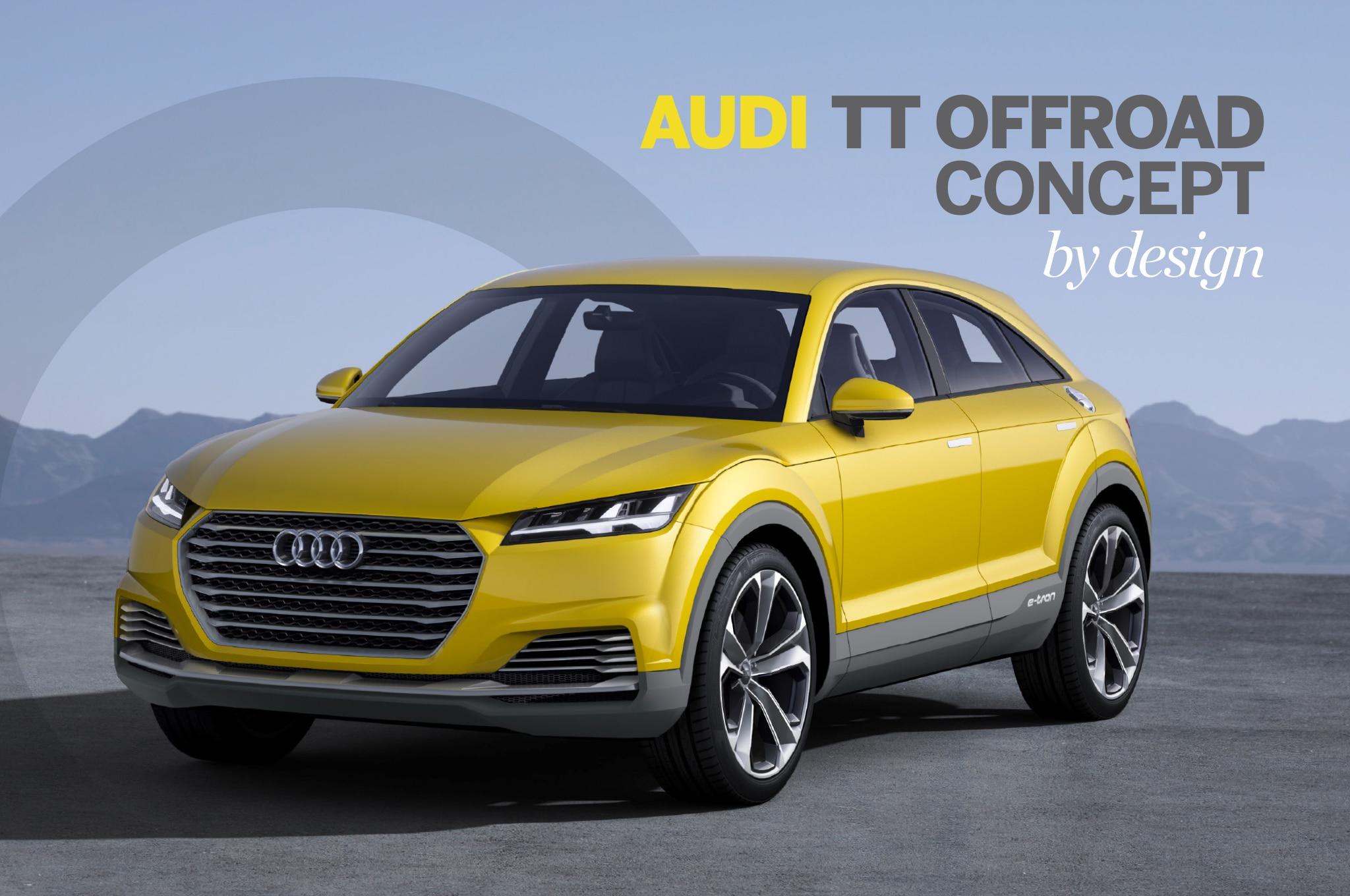 Audi TT Offroad Concept Lead