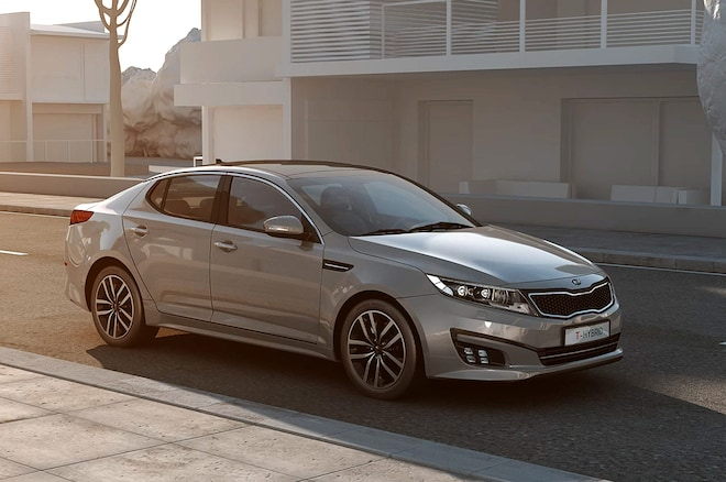 Kia Optima T Hybrid Concept Front Three Quarter