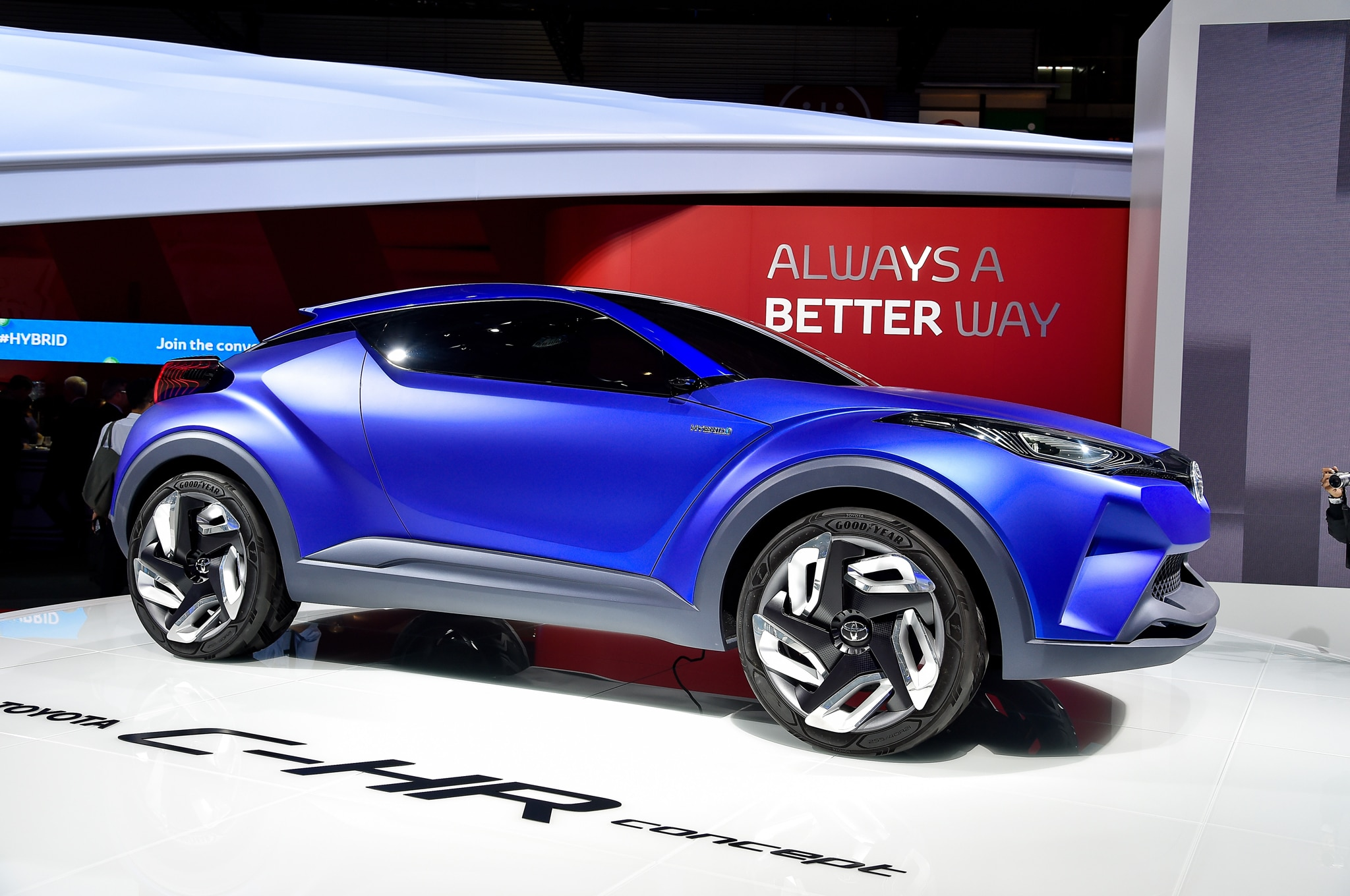 Toyota C HR Crossover Concept Revealed Ahead of Paris Auto Show